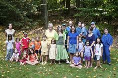 Rainbow family!  Can you imagine us doing this when all of our kids are married with kids!  COLORBURST!!!!