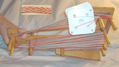 Warping Your Mini Card Loom