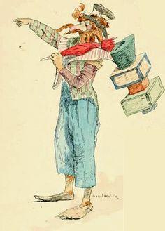 * Illustration pour Hugues Le Roux, Les jeux du Cirque et la vie foraine, 1889 - Jules Garnier