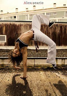 Capoeira Girl by Alex Canario on 500px
