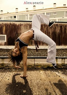 Capoeira Girl by Alex Canario on 500px