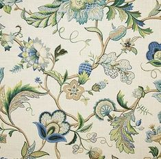 Click to Enlarge Robert Allen, French Country Living Room, French Fabric, Butterfly Chair, Drapery Fabric, Chair Fabric, Cool Fabric, Fabric Art, Home Decor Fabric