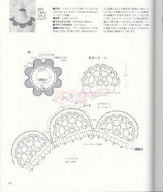 Although it's crochet -- 【转载】LET'S KNIT SERIES 2012春夏 - 花眼钩花的日志 - 网易博客