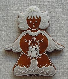 Pin by Sheila on ideas Christmas Gingerbread Men, Gingerbread Cookies, Christmas Cookies, Christmas Baking, Christmas Crafts, Hungarian Cookies, Cake Structure, Types Of Cakes, Paper Cake