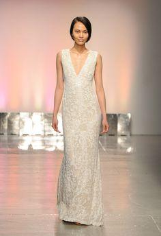 Rivini Spring 2015   Kurt Wilberding   The Knot Blog #bridal #gown #wedding