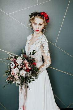 Cupid got us falling for this Valentine's wedding inspiration | Image by Alex Lasota Photography