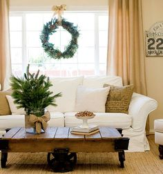 Rustic Christmas Decor   Sarah Barksdale Design