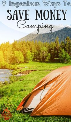 If you're not careful, the costs of camping can get out of hand. Here are 9 Ingenious ways to save money camping with your family and friends: http://www.savingmoneycamping.com/9-ingenious-ways-to-save-money-camping/ camping gear, best camping gear #camping