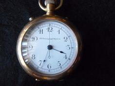 Scarce New York Chronograph Watch Co. pocket watch w/ odd 1901 presentation | eBay