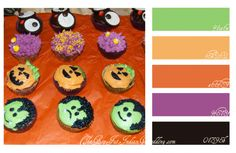 Halloween colors of blacks and oranges are classic, but not the most wedding friendly. Add in a splashes of greens and purples to brighten up the Halloween wedding festivities. Color Palette Generator, Green Colour Palette, Holiday Crochet, Halloween Cupcakes, Halloween Coloring, Colour Schemes, Halloween Crafts, Color Inspiration, Balloons