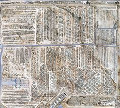 Google Earth image showing the 2,600 acre site, which is home to 4,200 aircraft. Of these, 80 per cent are used as spare parts for the current U.S Air Force flee.