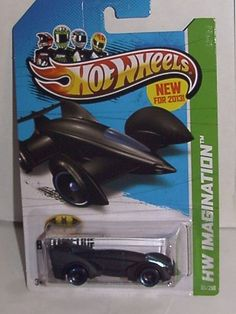 2013 HOT WHEELS 1:64 SCALE HW IMAGINATION BATMAN LIVE BATMOBILE #65/250 by MATTEL. $0.35
