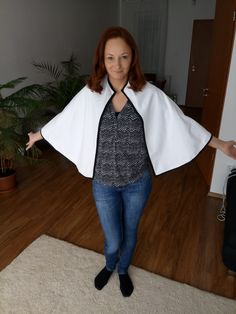 Easy and elegant poncho