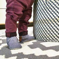Chambray Minimoc shoes