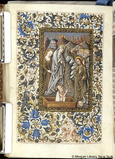 Book of Hours, MS M.854 fol. 154v - Images from Medieval and Renaissance Manuscripts - The Morgan Library & Museum