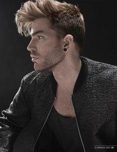 Adam Lambert by Jsquared Photography at Glamoholic... - someone-somewhere-...