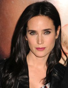 Jennifer Connelly is a heavenly pretty woman ♥ Jennifer Connelly, Hair Color For Black Hair, Dark Hair, Cool Winter, Famous Women, Celebs, Celebrities, Mannequins, Beautiful Actresses
