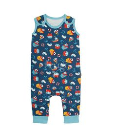 Baby Overall Day at the seaside Frugi Heldenkind