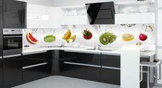 Badezimmer Bunter Früchtemix Motiv Küchenrückwand