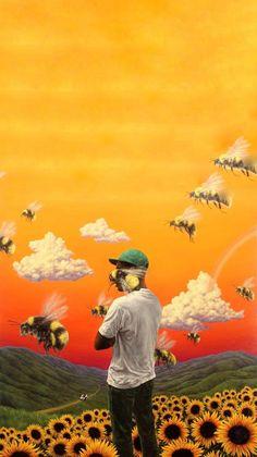 """$10.99 - Tyler The Creator Flower Boy Poster Hip Hop Artist Art Print 13X20"""" 24X36"""" #ebay #Collectibles"""