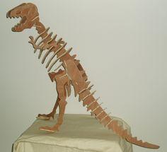 Tyrannosaurus (T-Rex) A 3-D Dinosaur Model #byhandbyme