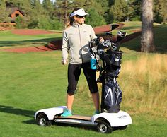 GolfBoard - I think it's super super cool and would LOVE to get one, but I'd better keep with walking to be fit :)