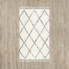 FREE SHIPPING! Shop AllModern for Langley Street Twinar Hand Knotted  Black Area Rug - Great Deals on all  products with the best selection to choose from!