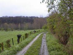 Wandelpad nabij de Geer tussen Kanne en Eben-Emael
