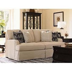 Recliner Sofa: i love this because it doesn't look dated! #shopkick #TreatYourself #RecliningSofa