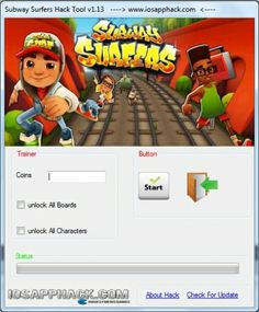 Subway Surfers Hack Tool