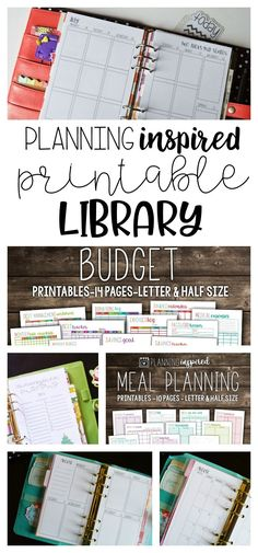 Organize your entire life with this huge library of printables! Plus, get access to all printables released in the future, too!