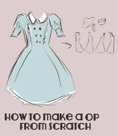 OP Princess Seam Dress Pattern Yes, that's the idea! Right now, I've only made the pattern - and probably you won't see me sewing this in a couple of weeks - but I thought that maybe someone. Lolita Fashion, Diy Fashion, Gothic Fashion, Fashion Tips, Sewing Clothes, Diy Clothes, Visual Kei, Clothing Patterns, Sewing Patterns