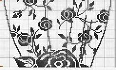 схемы для вышивки и филейного вязания pinterest Lana Vanina