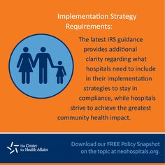 http://www.chanet.org/TheCenterForHealthAffairs/MediaCenter/Publications/PolicySnapshots/12-15_Implementation-Strategy.aspx