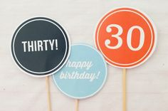 30th Birthday party picks and 20 more Ideas for Your 30th Birthday Party | Brit + Co.
