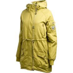 Nikita Aphrodite snowboarding coat. Ski Clothes, Santa List, Snowboarding Women, Aphrodite, Winter Time, Snowflakes, Military Jacket, Jackets For Women, Raincoat
