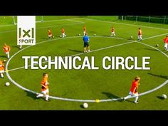 Technical Circle - Creative Football/ Soccer Drill for Kids - YouTube