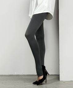 Take a look at this Reborn Collection   Charcoal Seamless Stirrup Leggings today!