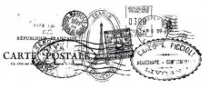 €4 Kaiser Craft Clear Stamp - Postmarks