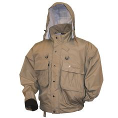 Frogg Toggs Hellbender Fly - Wading Jacket Stone - 2XL