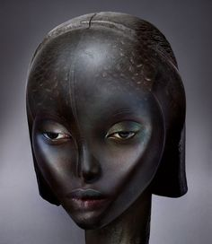 L'Afrique! is an ongoing series of photographical digital collages shot and created by Ingrid Baars. The project is inspired by the richness of African cultural heritage in all its diversity, incor… Africa Art, Princess Drawings, Black Image, Dutch Artists, Artist Art, Sculpture Art, Human Sculpture, Ceramic Sculptures, Contemporary Artists