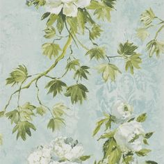 floreale - celadon wallpaper   Designers Guild