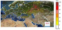 #nucléaire  Déplacement d'un nuage radioactif sur l'Europe