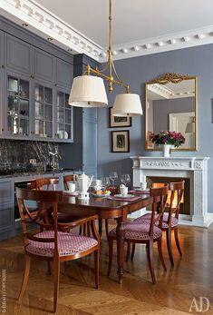 home interior design company items for sale Design Hall, Table Design, Küchen Design, House Design, Casa Art Deco, Art Deco Home, Summer Deco, Beautiful Houses Interior, Beautiful Homes