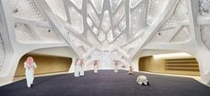 Gallery of King Abdullah Petroleum Studies and Research Centre / Zaha Hadid Architects - 2