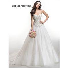 Maggie Sottero Corbin 4MT028 - [Maggie Sottero Corbin] - Buy a Maggie Sottero Wedding Dress from Bridal Closet in Draper, Utah