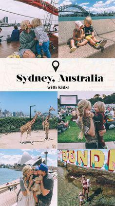 Barefoot Blonde Sydney Australia with kids