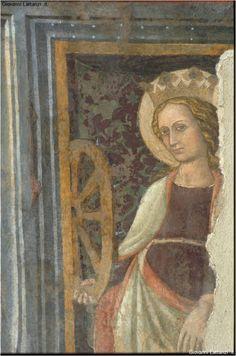 L'Aquila, chiesa della Beata Antonia, affreschi