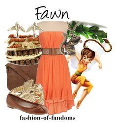 """Fawn"" by fofandoms ❤ liked on Polyvore featuring moda, Nica, Disney, Reiss, River Island, Pieces y Banana Republic"