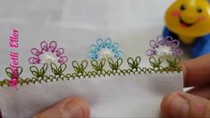 This Pin was discovered by Ahm Needle Lace, Needle And Thread, Double Crochet, Knit Crochet, Knit Shoes, Crewel Embroidery, Sweater Design, Knitted Shawls, Knitting Socks